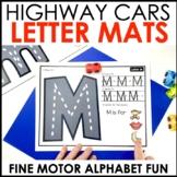 Hands-On Highway Alphabet Center Mats