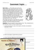 Hands-On History--Civilizations of Asia (eLesson)