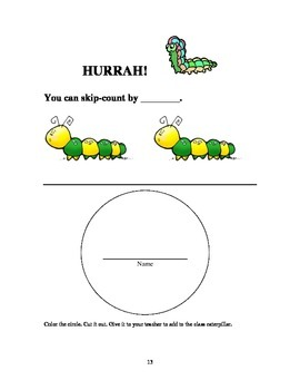 Hands-On Homework, Centers, Games for Counting and Skip-Counting,  K,1,2