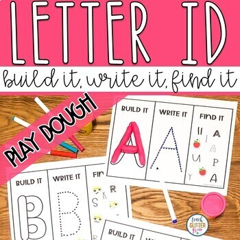 Hands-On Letter Recognition, Letter Sound, and Counting Activities