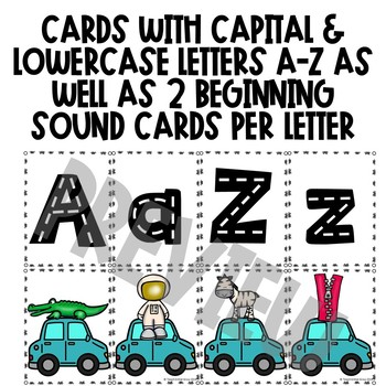 Letter Recognition and Beginning Sound Center Activity