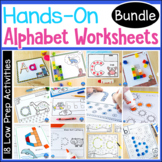Hands-On Letter Worksheets BUNDLE