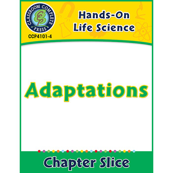 Hands-On STEAM - Life Science: Adaptations Gr. 1-5