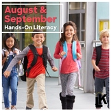 Hands-On Literacy (August and September)