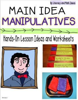 Hands-On Main Idea:  Comprehension Manipulatives and Teaching Ideas