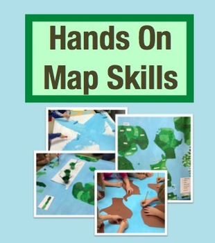 Hands On Map Skills: Cross Curricular Project to Teach Map Skills (Grades 2-4)