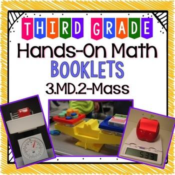 Hands-On Math Booklet 3.MD.2 {Mass}