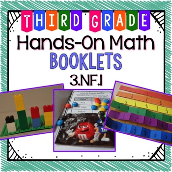 hands on math booklet 3 nf 1 fractions free by ashleigh tpt