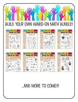 Hands-On Math: Build Your Own Bundle  Math Centers