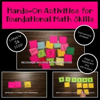 Hands-On Math Card Kit