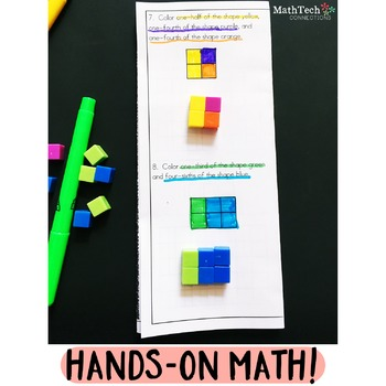Hands-On Math Center: Fractions