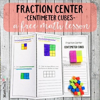 Hands-On Math Center: Fractions