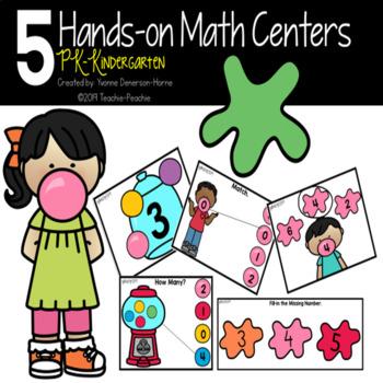 Hands-On Math Centers  PK-Kindergarten