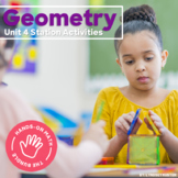 Hands-On Math: Geometry Station Activities