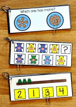 Hands-On Math:  Math Clip and Flip Books Bundle
