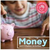 Hands-On Math: Money Station Activities
