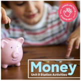 Hands-On Math: Money Station Activities