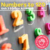 Hands-On Math: Numbers to 120 Station Activities