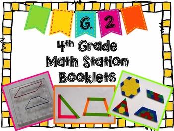 Hands-On Math Station Booklet - G.2 {2-Dimensional Figures