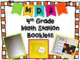 Hands-On Math Station Booklet - MD.3 {Area and Perimeter}  Common Core