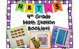 Hands-On Math Station Booklet - NBT.5 {Multiplication / Arrays / Area Models