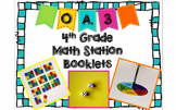 Hands-On Math Station Booklet - OA.3 {Multistep Word Problems}