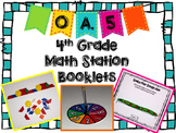 FREE - Hands-On Math Station Booklet - OA.5 {Patterns}