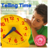 Hands-On Math: Telling Time Station Activities