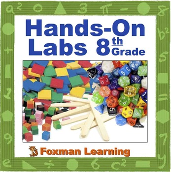 Hands On Math labs for 8th Grade Common Core Math