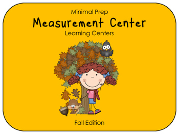 Hands On Measurement Center - Fall (2 SETS)