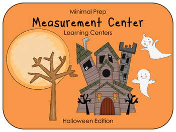 Hands On Measurement Center - Halloween (3 SETS)