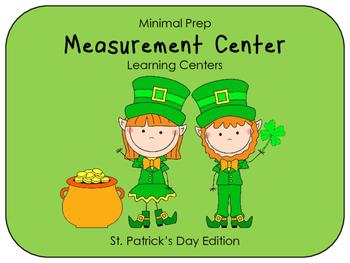 Hands On Measurement Center - St. Patrick's Day (2 SETS)