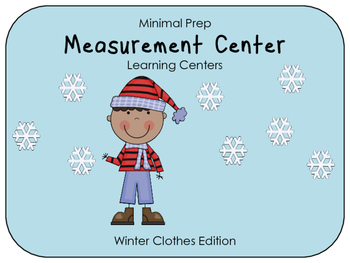 Hands On Measurement Center - Winter Clothes (1 SET)