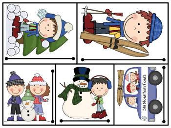 Hands On Measurement Center - Winter Fun (1 SET)