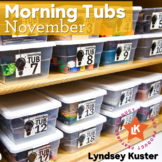 Hands-On Morning Tubs (November)