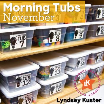 Hands-On Morning Tubs (November)
