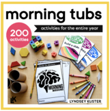 Independent Hands-On Morning Tubs