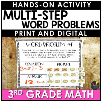 Hands On Multi-Step Word Problems