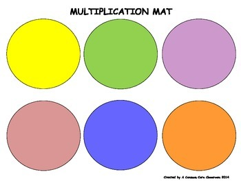 Hands On Multiplication Mat