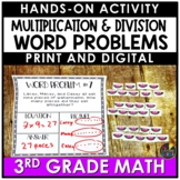 Hands On Math   3rd Grade Multiplication and Division Word