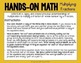 Hands-On Math Multiplying Fractions