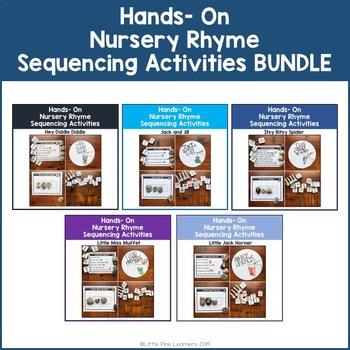 Hands-On Nursery Rhyme Sequencing Activities BUNDLE