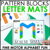 Hands-On Pattern Block Alphabet Centers