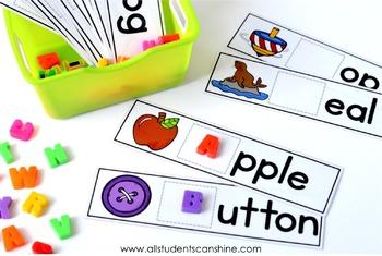 Hands-On Phonics ~ Alphabet Games