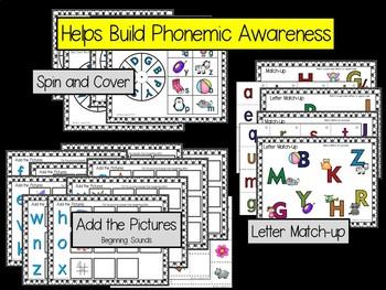 Hands-On Phonics - Alphabet and Beginning Sounds