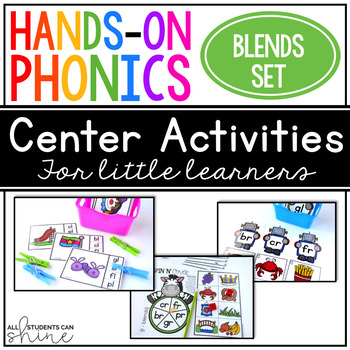 Hands-On Phonics ~ Blends