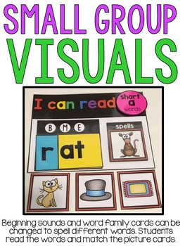 Hands On Phonics: CVC Words Bundle