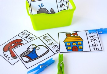 Hands-On Phonics ~ Digraphs