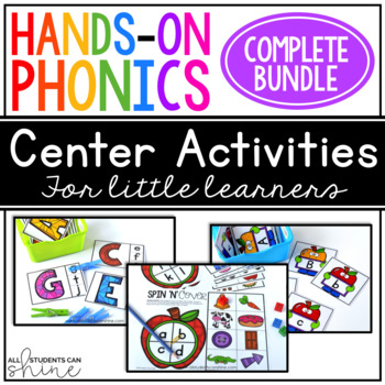 Hands-On Phonics ~ GROWING BUNDLE