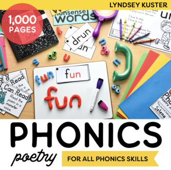 Hands-On Phonics Poetry Bundle